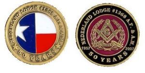 50 year coin